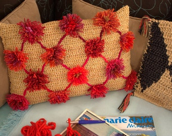 cushion *riad flower*
