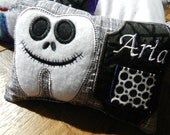 Toothfairy Pillow-Personalized Jack Skellington