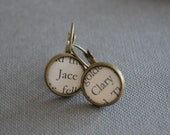 Clary and Jace The Mortal Instruments, City of Bones earrings
