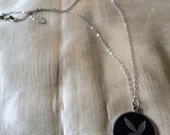 Official Playboy Bunny Necklace / 1960's Playboy Bunny Charm Necklace