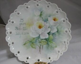 Anniversary/Wedding/Birthday commemorative plate