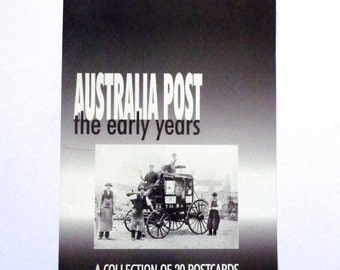 Australia Post The Early Years Postcard Collection