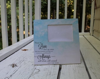 In Memory of 12 x 12 picture frame