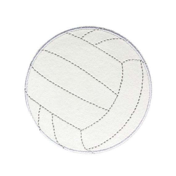 PVC Volleyball Vinyl Patch Girls & Boys Team Sport Player Gear