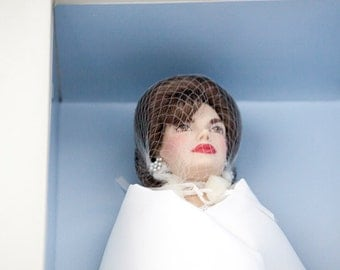 Jacqueline, Jackie-O Kennedy Inaugural Day Doll In Box