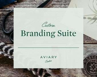 Branding Suite / Custom Brand Design for Small Business by Aviary Creative