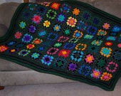 Jungle Dreams Granny Square Afghan