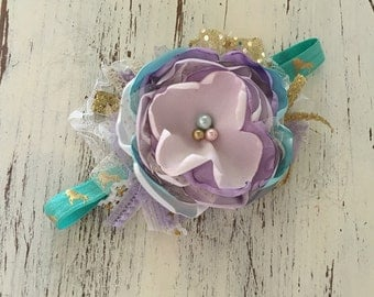 Baby Girl Headband- Baby Headband- Wdw Headband- Whim and Wander- Newborn Headband- Infant Headband- Couture Headband