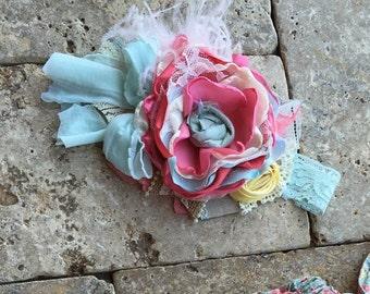 Baby Girl Headband- Baby Headband- Flower Girl Headband- Matilda Jane-Lets go camping- Headband-Dollcake Headband- Girls Headband-Hair Bow