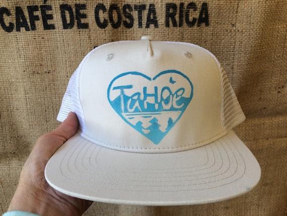 Tahoe love trucker hat