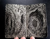 Dark Forest, Miniature Book Art