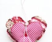 Valentine Gift - Heart Door Hanger - Decorative Heart - Valentine's Day Decor - Hanging Heart - Valentine Gift For Her - Valentine's Day