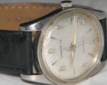 Vintage Mens Caravelle by Bulova Mechanical Wind Watch
