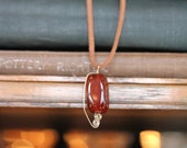 agata de fuego necklace