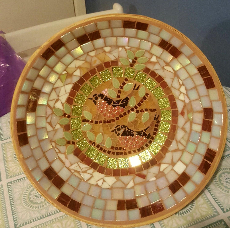 Perfect decorative mosaic bowl for Perfekt mosaik bordure