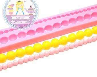 Pearl Mold 200mm 426L Cake Decoration Cake art Candy Clay Resin Fondant Gumpaste Mold BEST QUALITY
