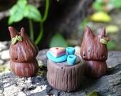 Tree Sprites: An art doll playset