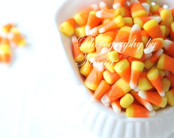 Halloween, Autumn Wall Decor, Sweet Candy Corn 2- Photography by Maria