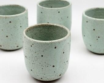 Ceramic Tumbler - Ceramic Teacup - Pottery Cup - Ceramic Cup - Ceramics and Pottery - Handmade Ceramics