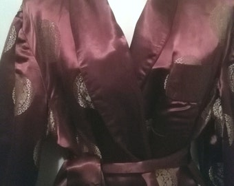 Vintage smoking jacket sz 48