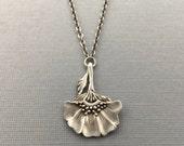 Folk Flower necklace | bohemian flower | boho necklace | jacobean flower necklace | folk necklace