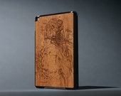 Under the Sea - Mahogany iPad Air 2 Smart Cover & Wood Case - Made in the USA - FREE Shipping