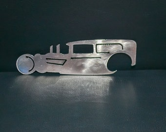 Rat Rod Metal Bottle Opener, Car, Classic Car Bottle Opener