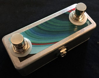 Saturnworks  Double Tap Tempo + Amp Switch w/ Momentary Switches +TRS Jack, replaces Boss FS-6