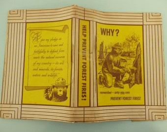 1959 Smokey the Bear Book Cover