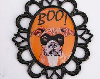 Halloween Boxer Pin