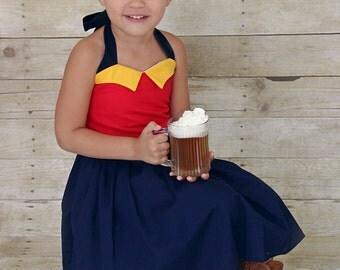 Gaston Inspired Dress, Disney  Co-play,  School Play, Custom Costume, Birthday, Dress-up, Children sizes, Disney Vacation