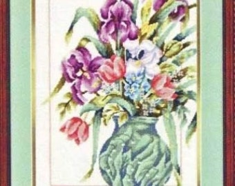 """Early Blossoms Floral Flowers Needlepoint Tapestry Kit - 12"""" x 16"""""""