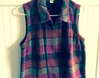 Christopher Banks vest  size M  vintage