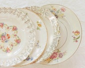 Custom Listing for Susan.. Mismatched China Set, Bread Butter Plates, Salad Plates, Dinner Plates Set of 10 Replacement China