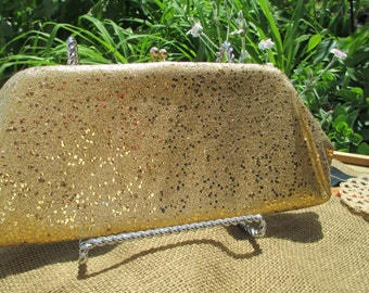 Vintage Hipster Golden Girl Purse  free shipping