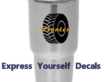 Lineman Yeti Tervis Cup Decal By Expresyourselfdecal On Etsy