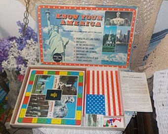 Know Your America Game  1982/Not Included In Coupon Sale