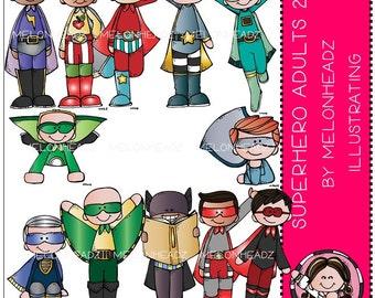 Superhero Adults clip art Part 2