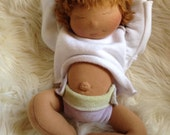 "15"" Nurture Baby - Coco skin/Amber Hair -  You choose name"