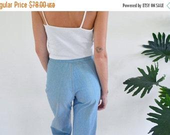 20% OFF / SUMMER SALE / High Waist Wide Leg Jeans size 25