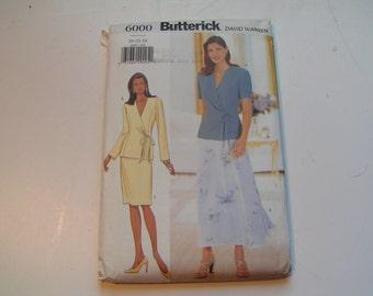 Butterick Pattern 6000 David Warren Miss Top Skirt