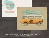 Destination wedding invitation Hawaii Maui Beach Save the Date Postcard - Hawaiian wedding - Deposit Payment