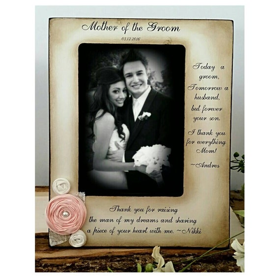 Mother Of The Groom Frame From Bride And Groom Two Messages