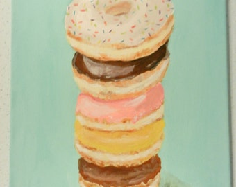 PAINTING | Donut Stacks