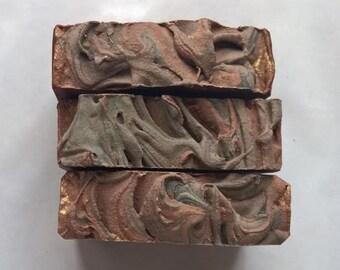 Dragon's Blood Soap: Vegan soap, palm free soap, handmade soap, cold process soap
