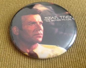 Vintage Original Series Captain Kirk Button Badge