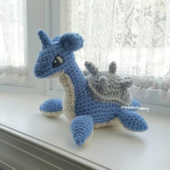 Pokemon Knitting Patterns : Crochet Lapras Pokemon