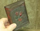 FOUR ROSES collectible tin tobacco tin