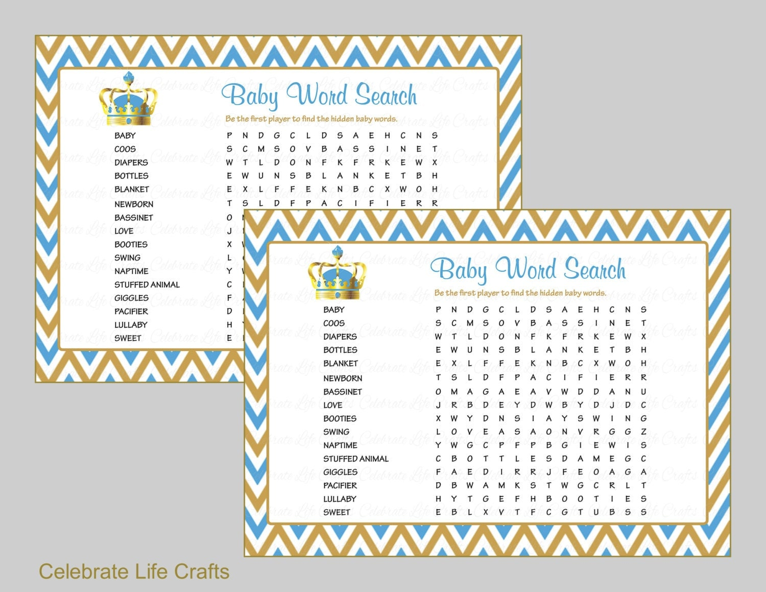 baby word search baby shower game printable baby games