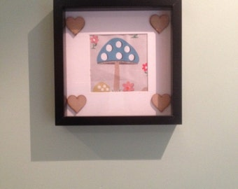 Handmade Picture with Cath Kidston Fabric